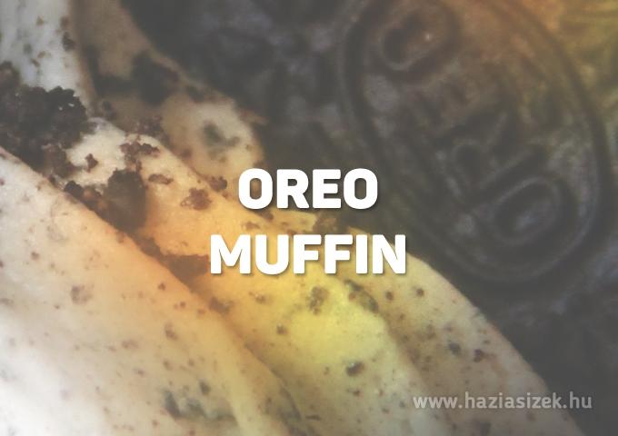 Oreos muffin